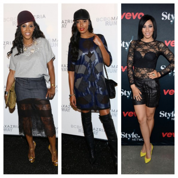 june ambrose-selita ebanks-bridget kelly-new york fashion week 2013-vevo-bcbg-the jasmine brand