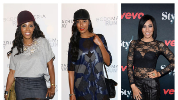 [Photos] Solange Knowles, Selita Ebanks, June Ambrose & Elle Varner Show-Up New York Fashion Week's: Target, BCBG & Tadashi Shoji Shows
