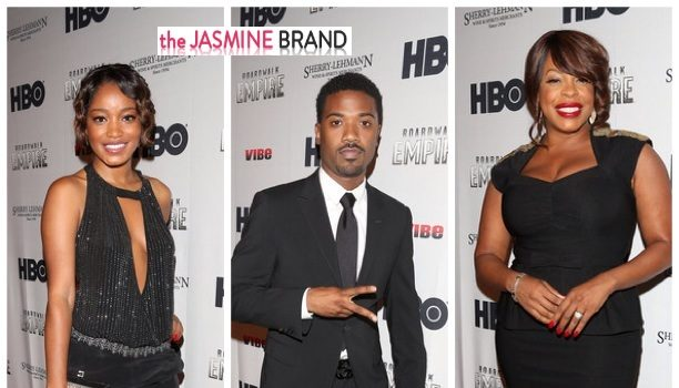[Photos] Keke Palmer, Niecy Nash, Ray J & Friends Show Up for Diddy's Hollywood Boardwalk Empire Premiere Party