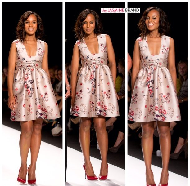 Spotted. Stalked. Scene. Kerry Washington Hits the Catwalk As 'Project Runway' Judge