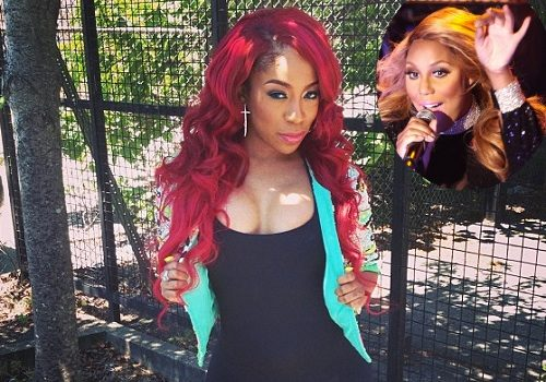 K.Michelle Puts Petty Beef Aside With Tamar Braxton, Tells Fans to 'Buy Love War' Album