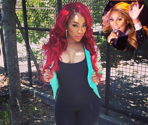 kmichelle-ends beef with tamar braxton-promotes love and war-the jasmine brand