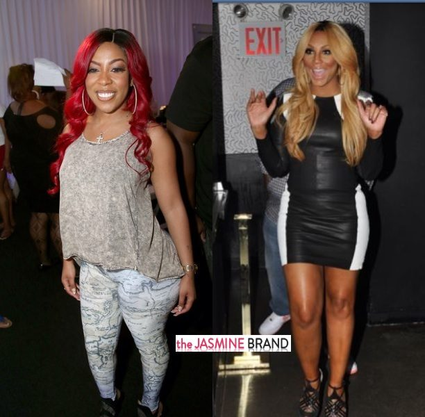 K.Michelle Accuses Tamar Braxton Of Buying Her Own Album to Generate Record Sales