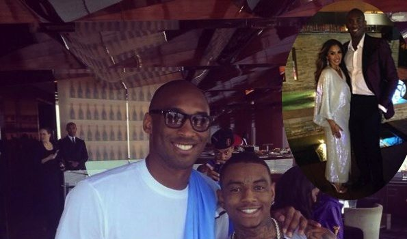 [Photos] Vanessa & Kobe Bryant, Soulja Boy Spotted in Dubai For Fitness Weekend