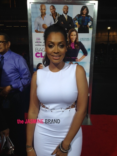 lala anthony-baggage claim premiere-los angeles-the jasmine brand
