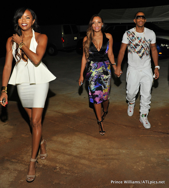 letoya luckett-eudoxie-ludacris-luda day weekend white party 2013-the jasmine brand