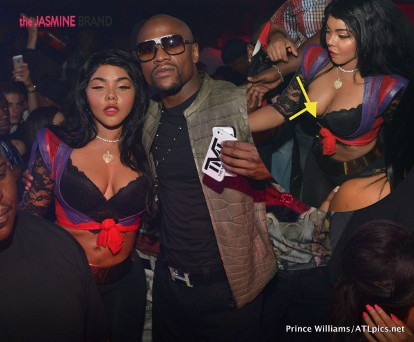 lil kim-nip slip-mayweather-bet hip hop awards-the jasmine brand