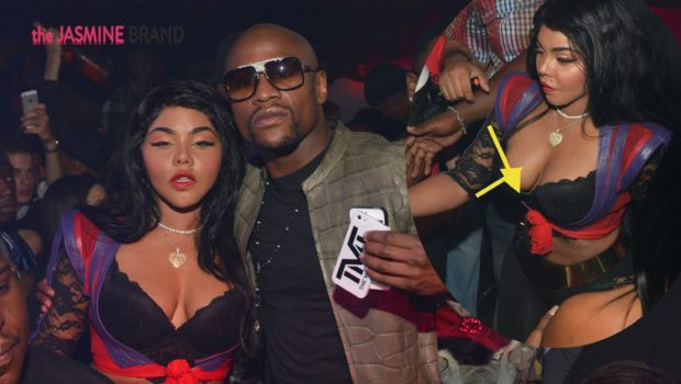 Lil Kim Has Wardrobe Malfunction While Partying With Mayweather + A Casually Dressed Diddy & Meek Mill Spotted