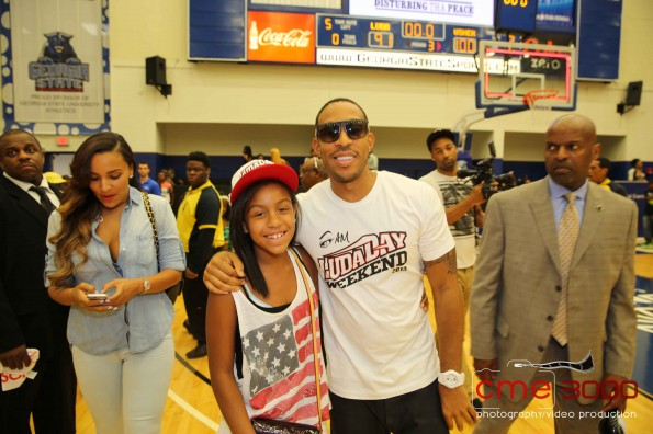 luda day-charity basketball game 2013-the jasmine brand