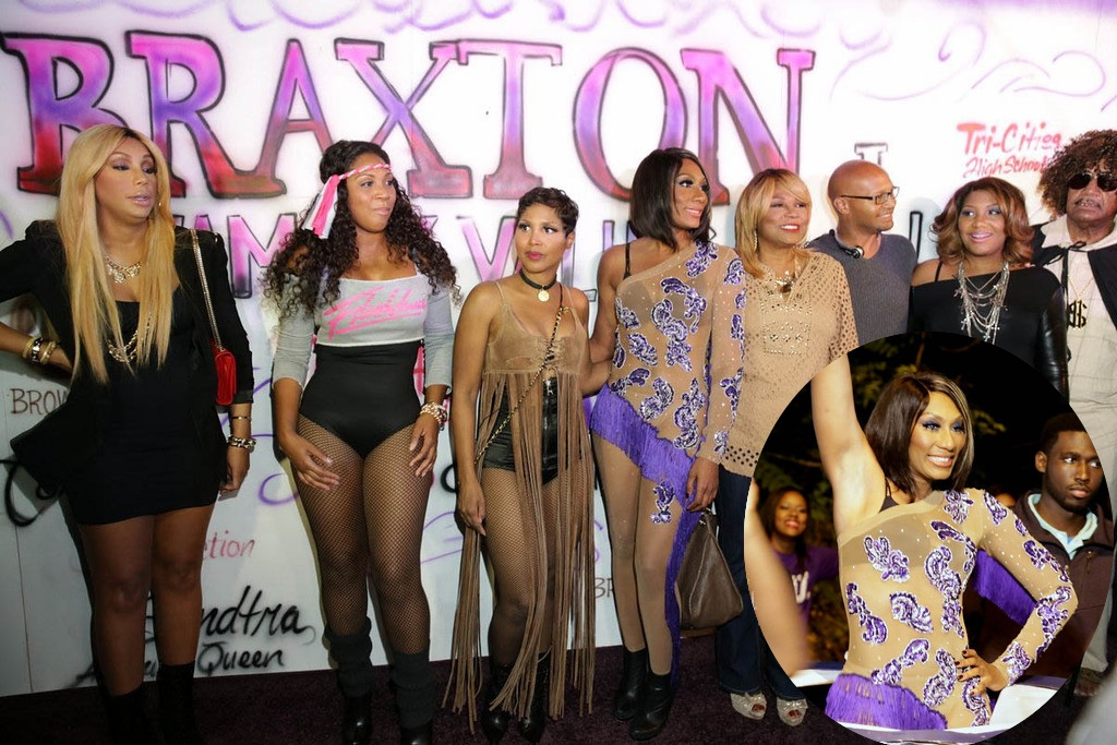 video towanda braxton brings out marching band amp famous