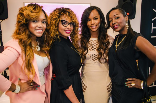mariah huq-letoya luckett-The Indique Hair Atlanta Boutique Grand Opening-the jasmine brand