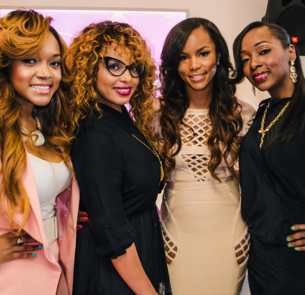 [Photos] LeToya Luckett & 'Married 2 Medicine's' Mariah Huq Attend ATL Salon Opening