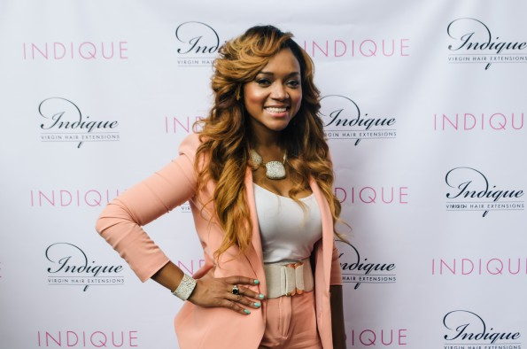 married to medicine-mariah huq-The Indique Hair Atlanta Boutique Grand Opening-the jasmine brand