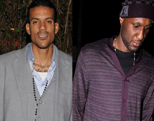 matt barnes-gives lamar odom advice-the jasmine brand