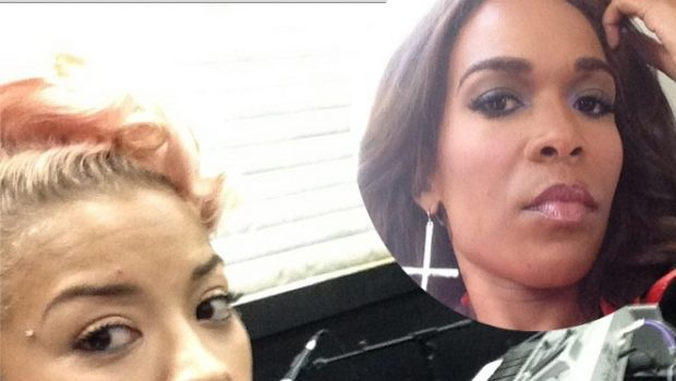 [AUDIO] Keyshia Cole Seems Uninterested With Michelle Williams' Olive Branch