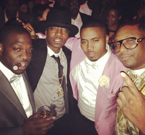 nas 40th birthday-maino-the jasmine brand