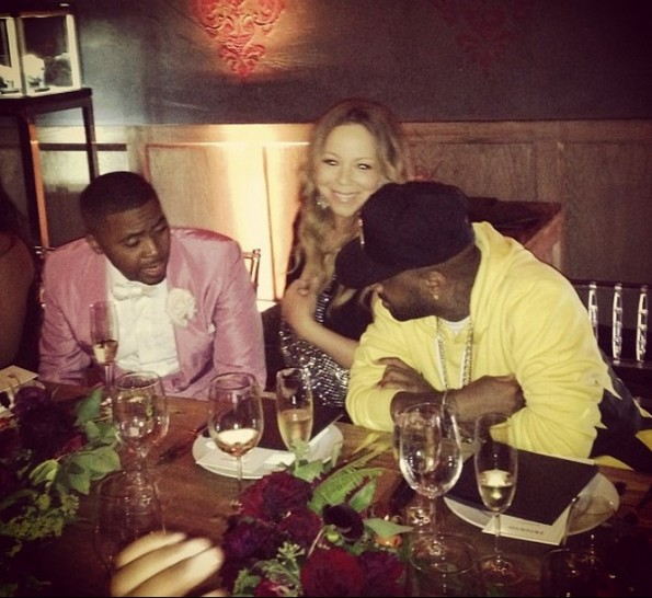 nas-mariah carey-jd-nas 40th birthday party-the jasmine brand
