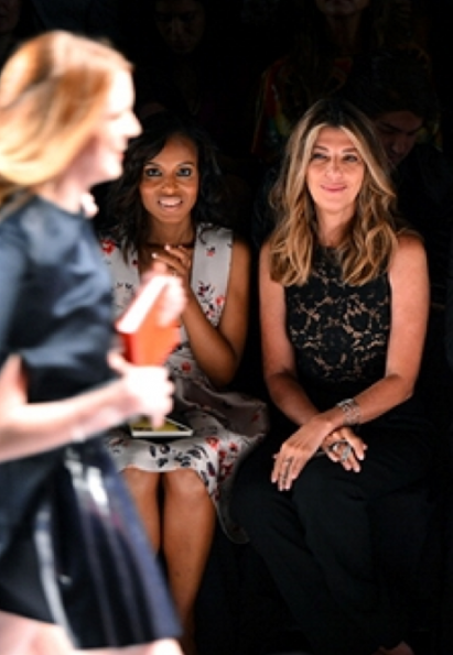 nina garcia-kerry washington-new york fashion week 2013-project runway judge-the jasmine brand