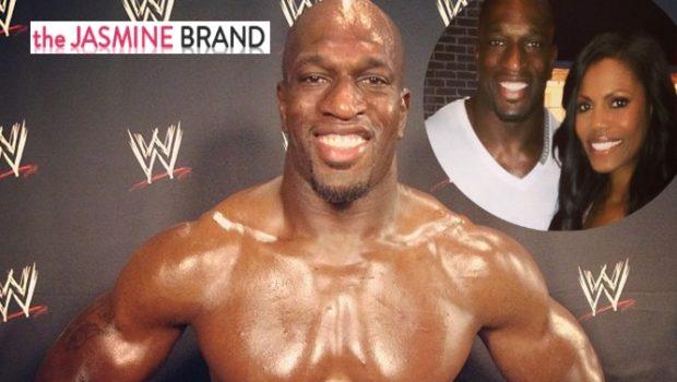 New Cup Cakin' Alert: Omarosa's Got A New Man! Dating Professional WWE Wrestler Titus O'Neil