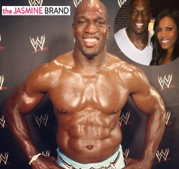 New Cup Cakin' Alert: Omarosa's Got A New Man! Dating Professional WWE Wrestler Titus O'Neil