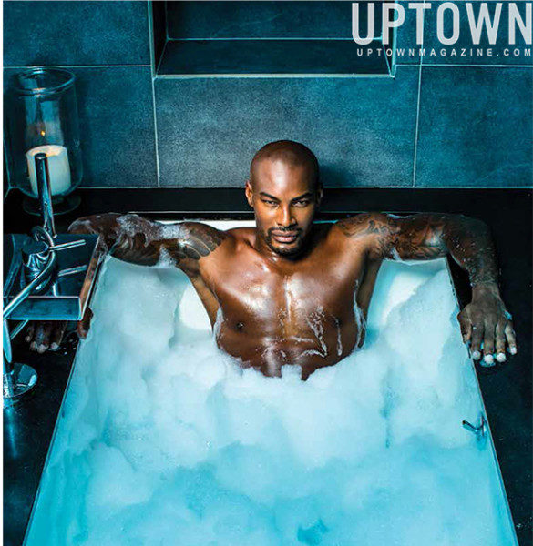 Stop & Stare: A Dapper Tyson Beckford Covers UPTOWN Magazine