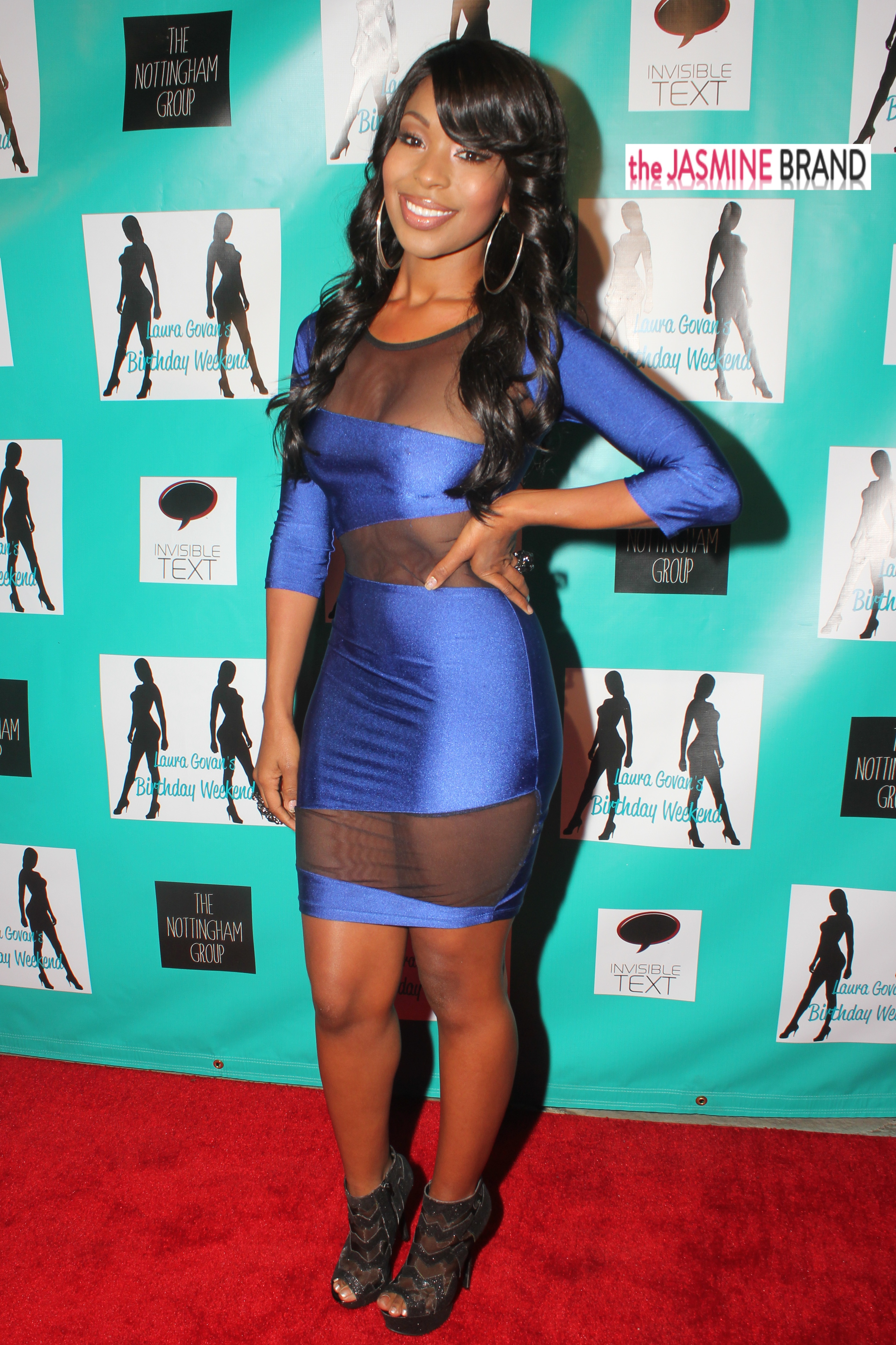 porscha coleman-laura govan birthday party 2013-the jasmine brand