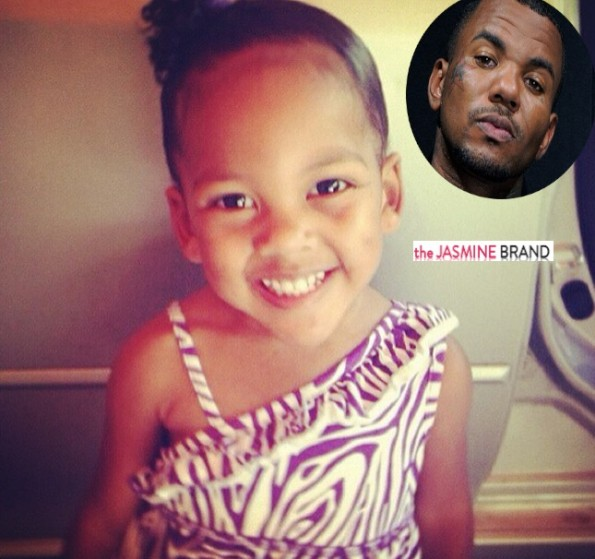rapper-the game donates money-to bury 2 Year Old Zanai Noel-the jasmine brand