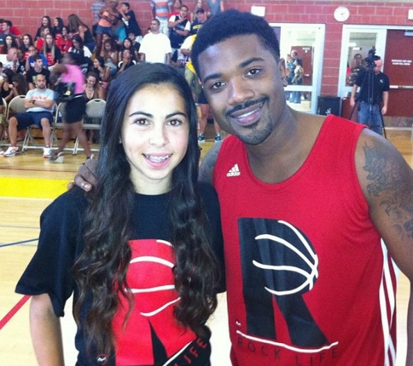 ray j-b-chris brown-rocklife-anti bullying charity basketball game 2013-the jasmine brand
