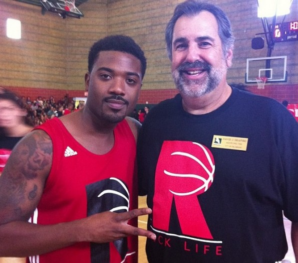 ray j-chris brown-rocklife-anti bullying charity basketball game 2013-the jasmine brand