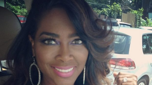 Enough Of the Weave Lines! RHOA's Kenya Moore Announces Hair Care Line + Kandi Burruss & Fiance Producing Musical Play