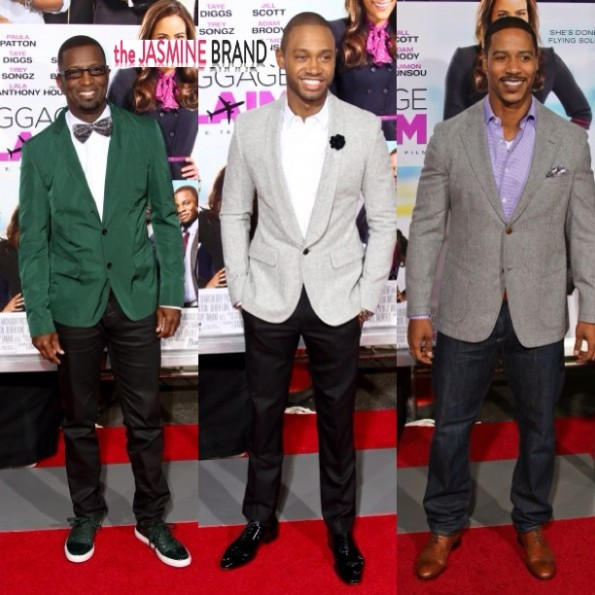 ricky smiley-terrence j-baggage claim premiere