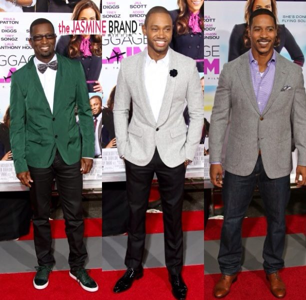 Trey Songz, Lauren London, Jill Scott, Lala Anthony & More Attend 'Baggage Claim' Premiere