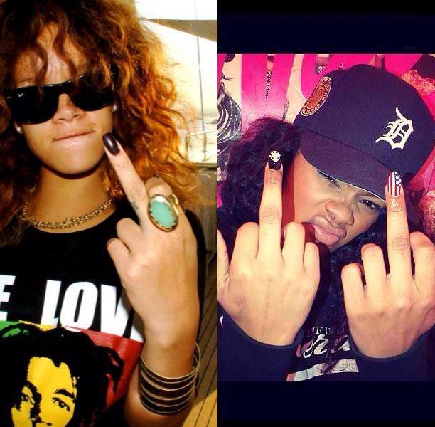 [WATCH] Full Fledge Twitter Beef Ignites Between Rihanna & Teyana Taylor