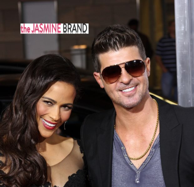 Love Don't Live Here Anymore: Paula Patton & Robin Thicke File For Separation