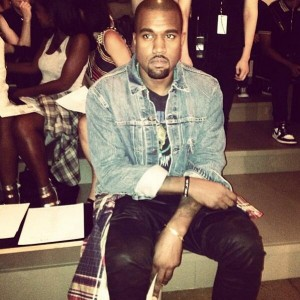 stone face-kanye west-new york fashion week 2013-alexander wang show-the jasmine brand