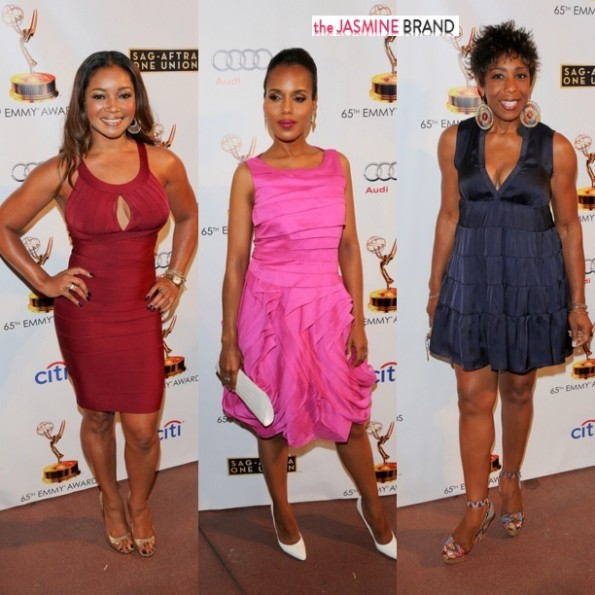 tamala jones-kerry washington-dawn lewis-65th Annual Primetime Emmy Awards - Dynamic & Diverse Nominee Celebration Hosted by the Television Academy and SAG-AFTRA-the jasmine brand