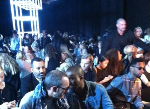 [Photos] Kanye West, Miguel, Solange Knowles Other Cool Kids Sit Front Row At Alexander Wang's New York Fashion Week Show