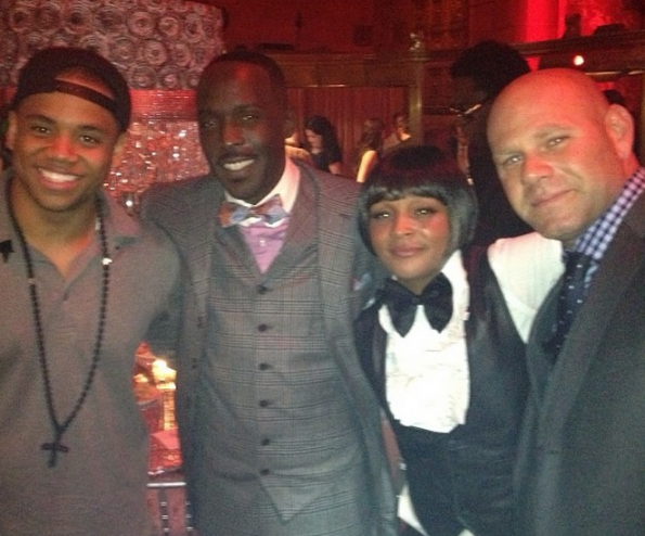 the wire cast-tristan wilds-michael k williams-snoop felicia pearson-dominic-boardwalk empire season 4 launch-the jasmine brand