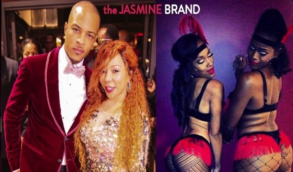 [WATCH] For Mature Eyes Only: Rapper T.I. Throws 'Peep Show' Themed Birthday Bash With Diddy, Brandy & Reality Stars