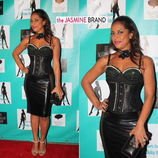 tiffney cambridge-marrying the game-laura govan birthday party 2013-the jasmine brand
