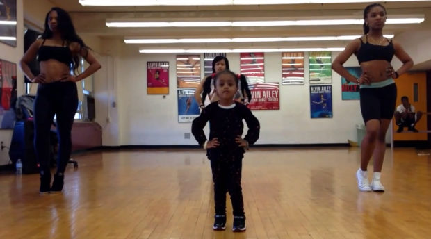 [VIDEO] Kiddie Dopeness! Two-Year-Old Girl Shows Off Choreography Skills to Beyonce Song