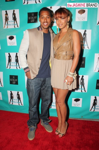 wesley jonathan-date-laura govan birthday party 2013-the jasmine brand