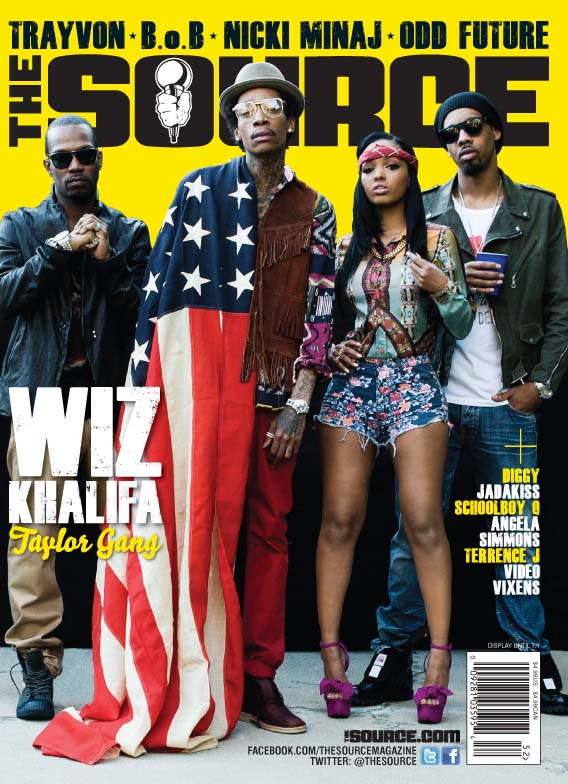 wiz khalifa-taylor gang-fires lola monroe-covers the source-the jasmine brand