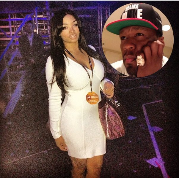 Floyd Mayweather's Ex Girlfriend, Princess, Remains Mum After Being Verbally Attacked By 50 Cent