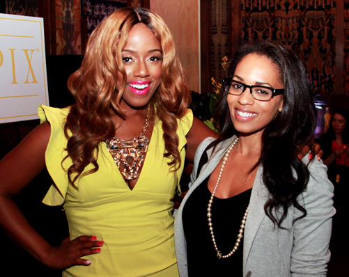 Daisy Lewellyn-Melyssa Ford-Mellow at Tropix Hello Yellow Launch-the jasmine brand
