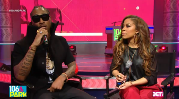 [WATCH] Newly Engaged Future Visits BET's 106 & Park, Explains How It Feels To Be A Power Couple w/ Fiance, Ciara