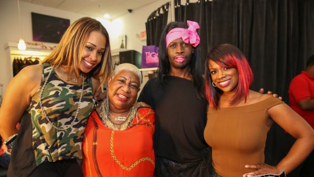 [Photos] Comedian Luenell Stops By Kandi Burruss' 'Kandi Koated Nights' Event