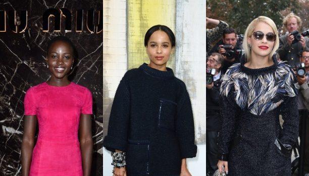 Kerry Washington & Jennifer Hudson Attend Variety's 'Power of Women', Naturi Naughton Hits Black Film Festival + Zoe Kravitz Takes In Paris Fashion Week