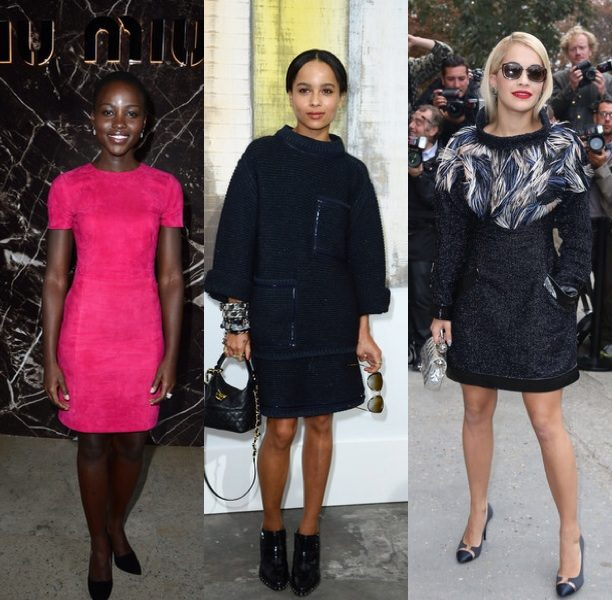 Kerry Washington & Jennifer Hudson Attend Variety's 'Power of Women', Naturi Naughton Hits Black Film Festival + Zoe Kravitz Takes In Paris Fashion Week