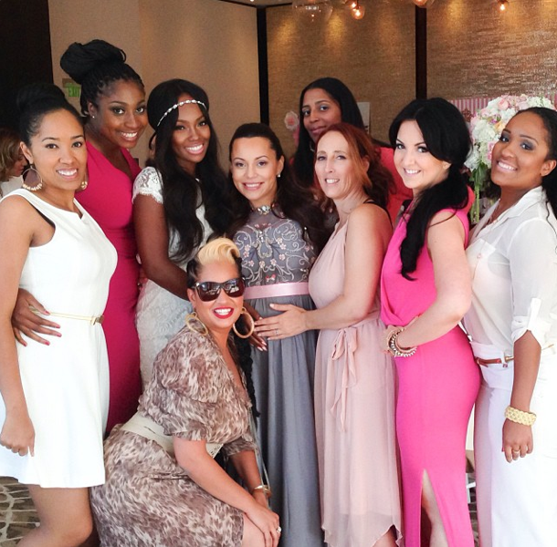 Basketball Wife Adrienne Bosh Attends Her Baby Shower + Grey's Anatomy Actor Jesse Williams & Wife Expecting